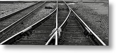 Railroad Highway Metal Print by Jason Drake