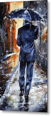 Rain Day #20 Metal Print by Emerico Imre Toth