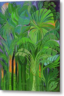 Rain Forest Malaysia Metal Print by Laila Shawa