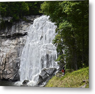 Rainbow Falls Metal Print by Susan Leggett