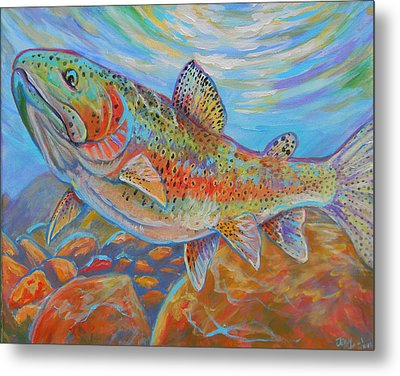 Rainbow  Metal Print by Jenn Cunningham