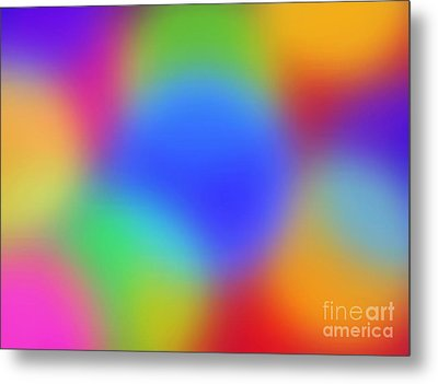 Rainbow Of Colors Metal Print by Gayle Price Thomas