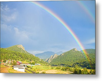 Rainbow Over Rollinsville Metal Print by James BO  Insogna