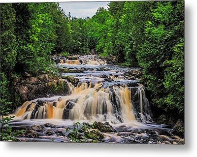 Rapids Metal Print by Paul Freidlund