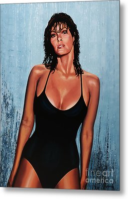 Raquel Welch Metal Print by Paul Meijering