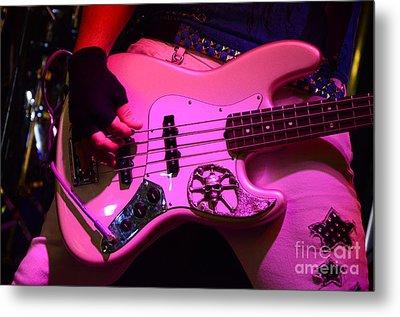 Raunchy Guitar Metal Print by Bob Christopher