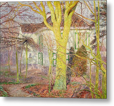 Ray Of Sunlight Metal Print by Emile Claus