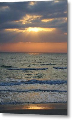 Rays From Above Metal Print by Bruce Bley