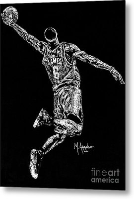 Reaching For Greatness #6 Metal Print by Maria Arango