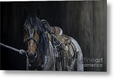 Ready And Willing Metal Print by Joni Beinborn