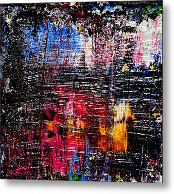 Real Artists Are Authentic Metal Print by Eckhard Besuden