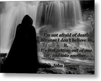 Reaper 1 Metal Print by Tammy Collins