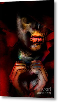 Reaping Lost Love Metal Print by Brittany Perez