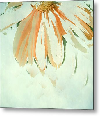 Reconstructed Flower No.1 Metal Print by Bonnie Bruno