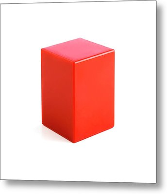 Rectangular Prism Metal Print by Science Photo Library