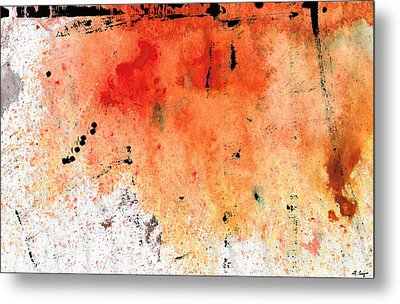 Red Abstract Art - Taking Chances - By Sharon Cummings Metal Print by Sharon Cummings