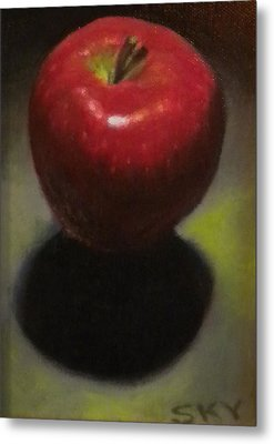 Red Delicious Metal Print by Blue Sky