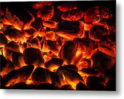 Red Hot 2 Metal Print by Bradley Clay