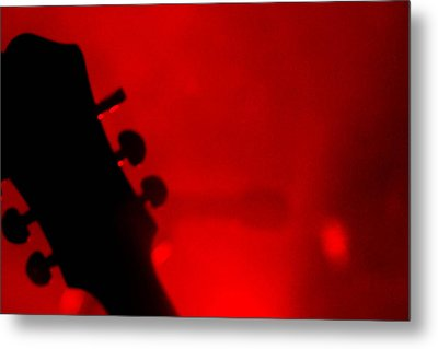 Red Light District Metal Print by KBPic