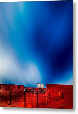 Red White And Blue Metal Print by Bob Orsillo