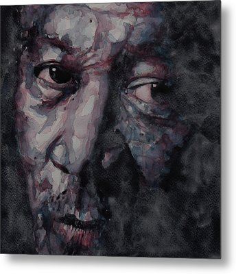 Redemption Man Metal Print by Paul Lovering