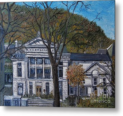 Redpath Museum Metal Print by Reb Frost