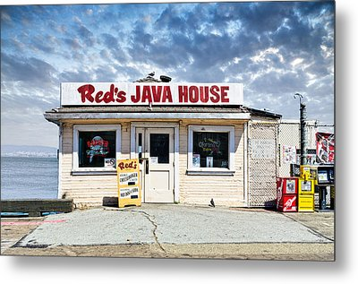 Red's Java House Metal Print by Tim Fleming