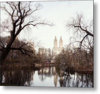 Reflected Metal Print by Lisa Russo