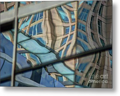 Reflection 15 Metal Print by Jim Wright