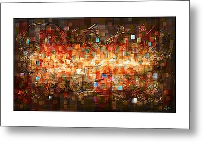 Reflection Metal Print by Craig Tinder