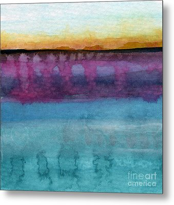 Reflection Metal Print by Linda Woods