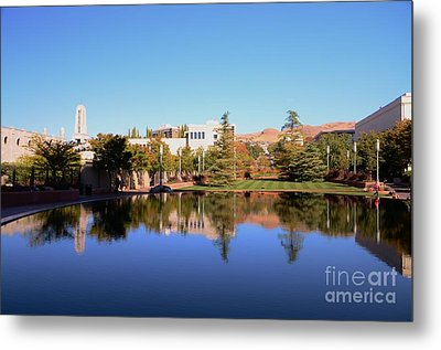 Reflection Pond Metal Print by Kathleen Struckle