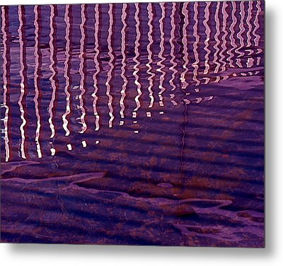 Reflection Metal Print by Rona Black