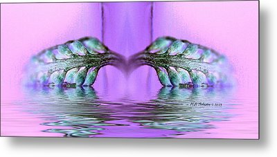 Reflective Consciousness Metal Print by WB Johnston
