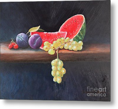 Refreshing Southern Delight  Metal Print by Louise Williams