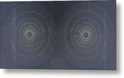Relativity Metal Print by Jason Padgett