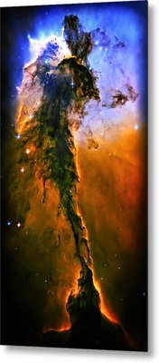 Release - Eagle Nebula 3 Metal Print by The  Vault - Jennifer Rondinelli Reilly
