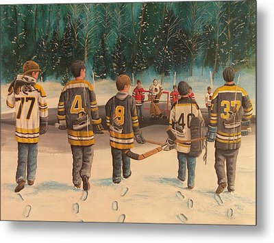 Rematch - Stanley Cup 2013 Metal Print by Ron  Genest