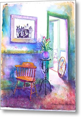 Remberence  Metal Print by Eleanor  Dixon Stecker