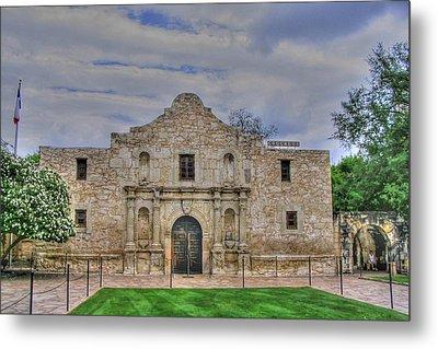 Remember The Alamo Metal Print by Barry Jones