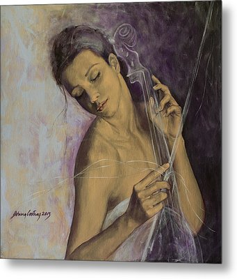 Remembrance Metal Print by Dorina  Costras