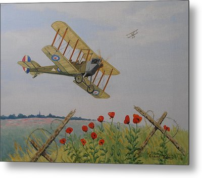 Remembrance Metal Print by Elaine Jones