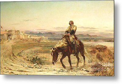 Remnants Of An Army Metal Print by Pg Reproductions
