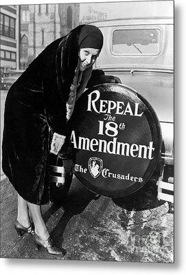 Repeal The 18th Amendment Metal Print by Jon Neidert