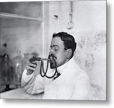 Respiratory Physiology Research Metal Print by National Library Of Medicine