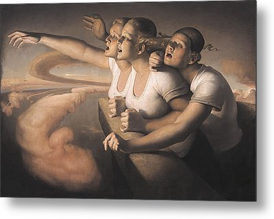 Return Of The Sun Metal Print by Odd Nerdrum