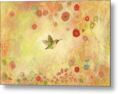 Returning To Fairyland Metal Print by Jennifer Lommers