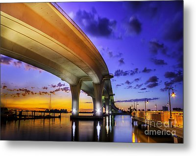 Ribbon In The Sky Metal Print by Marvin Spates
