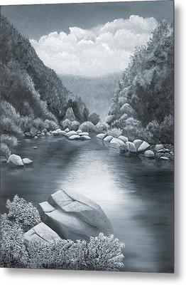 Richland Creek Metal Print by Garry McMichael