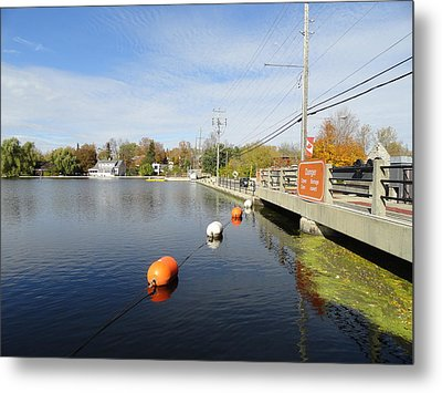 Rideau Canal Metal Print by Betty-Anne McDonald